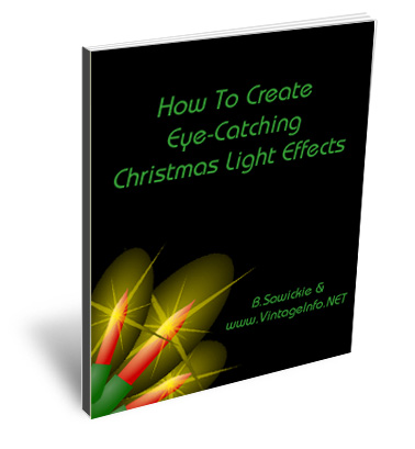 Christmas Display Lighting Effects