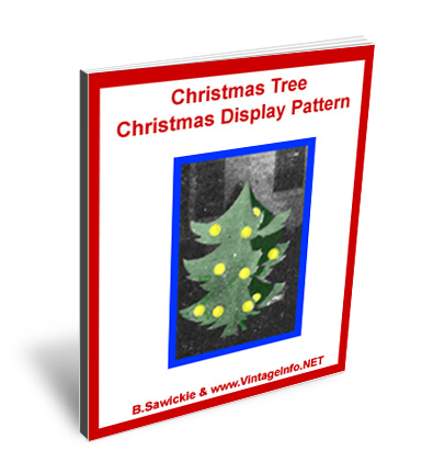 Christmas Tree Christmas Display Pattern